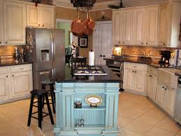 small kitchen rustic