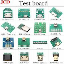 JCD <b>USB 3.1 Type</b> C Connector 24 Pins <b>Female</b> Socket receptacle ...