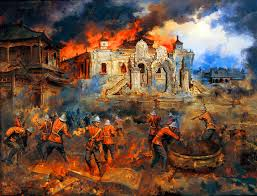 best images about empire iers king george british troops looting the yuanmingyuan summer palace opium war