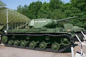 Тяжелый <b>танк КВ-1С</b> образца 1942 года. СССР