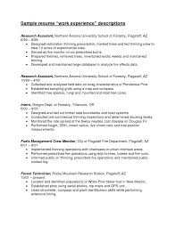 cover letter resume sample for work resume sample for working at cover letter resume template resume ideas example research experience criminal justice sample work descriptions assistant northern