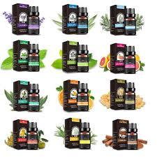 100% <b>Pure Plant</b> Aromatherapy Diffusers Essential Oil Set <b>10ml</b> ...