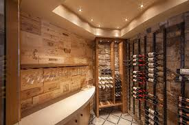 wine crate wall box version modern wine cellar furniture