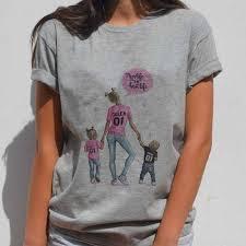 Vogue <b>Tee Shirt</b> Mother's Tops Super Mom <b>Harajuku Kawaii</b> Women ...