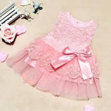 hilittlekids   Baby Girls Dresses <b>Kids Bow Lace</b> Princess Dresses ...