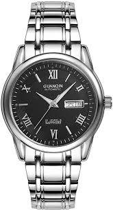 Guanqin Men Automatic Self Winding Wrist Watch ... - Amazon.com