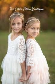 Lace Top Adorable Flower <b>Girl</b> Dresses, <b>Tulle Little Girl</b> Dresses ...