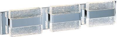 maxim 39623ibpc ice contemporary polished chrome led 3 light bathroom vanity light loading zoom amazing contemporary bathroom vanity lighting 3