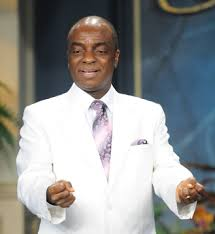 Image result for Image of Bishop Oyedepo preaching