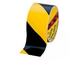 <b>Клейкая лента</b> противоскользящая 50mm x 20m Black-Yellow ...