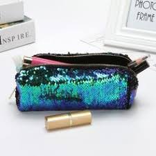 <b>Portable Sequin Handbag</b> Reversible <b>Glitter</b> Paillette Cosmetic <b>bag</b> ...