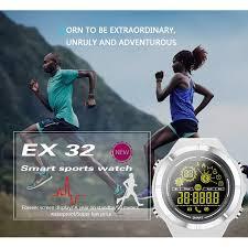 <b>Ex32 Smartwatch</b> Bluetooth Tahan Air Tahan Lama untuk Outdoor ...