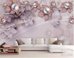 <b>Custom</b> Photo Wallpaper 3D Mural <b>Exquisite</b> Luxury Jewelry ...