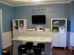 ideas home office design ideas navy blue painting wall white gloss for awesome and also interesting home office blue regarding cozy awesome colors interior office design ideas