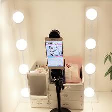 Зеркало для макияжа, <b>светодиодный светильник</b>, <b>настенный</b> ...