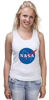 Майка классическая Свитшот NASA #674830 от serrato по цене ...