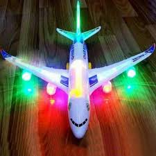 Kids Toy <b>Electric Airplane</b> Aircraft Musical Toys Moving <b>Flashing</b> ...