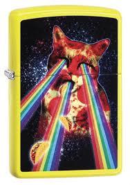 <b>Зажигалка Pizza Cat</b> Зиппо (Zippo) 29614 - купить в интернет ...