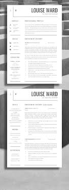 best ideas about cv template cv design cv ideas professional resume design professional cv design be professional and get more interviews career