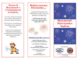 fire safety brochure town of raymond maine fire safety brochure