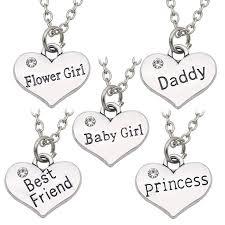 [US $0.77] <b>Meirenpeizi</b> Daddy Best Friends Princess Necklace For ...