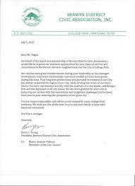 advocacy letters community appreciation letter sent to joe nagro for his years of dedicated service to our community