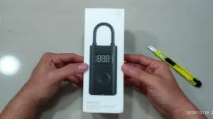 Unboxing Xiaomi Mijia <b>Portable Smart Digital</b> Tire Pressure ...