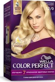 <b>Крем</b>-<b>краска для волос Wella Color</b> Perfect Стойкая, 12/0 ...