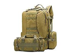 BDEAL Unique <b>50L</b> Multifunctional Combination Backpack <b>Large</b> ...