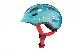 <b>Велошлем</b> детский <b>Abus Smiley 2.0</b> / Бирюзовое море купить в ...