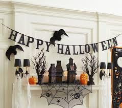 halloween gallery wall decor hallowen walljpg full size of decoration black glitter hallloween garland happy halloween banner hounted house props spider