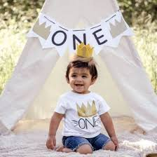 Shop 1ST Birthday Infant Kids <b>Baby Boys Girls Summer</b> Clothes T ...