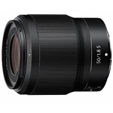 <b>Nikon NIKKOR Z 50mm</b> f/1.8 S Lens for Z Series Mirrorless
