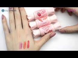 <b>Тинт</b>-<b>мусс для губ</b> The Saem Saemmul Mousse Candy Tint - YouTube