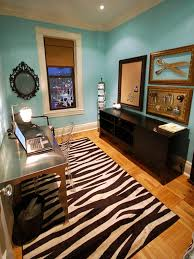 tiffany blue walls beautiful home offices ways