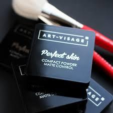 """<b>ART</b>-<b>VISAGE</b> Компактная <b>пудра</b> """"PERFECT SKIN"""" для жирной и ..."""