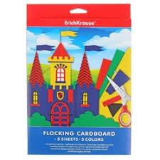 Цветная <b>бумага</b> и <b>картон</b> ErichKrause — купить на Яндекс.Маркете