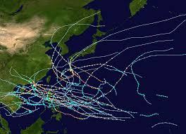 saison cyclonique 1964 dans l'océan Pacifique nord-ouest