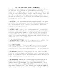 how to write autobiography example for college good cover letter how to write autobiography example for college