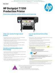 <b>HP Designjet</b> T7200 Production Printer