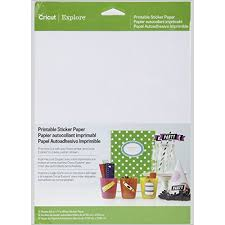 <b>Best</b> Cricut Printable <b>Sticker Paper</b> » Arts and Crafts Computer ...