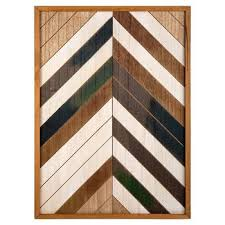 Truu Design Distressed <b>Wooden</b> Wall Art, 16 x 22 inches, <b>Brown</b> ...