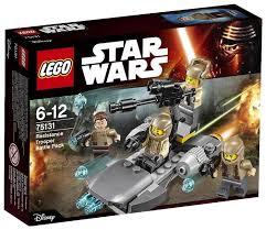 <b>Конструктор LEGO</b> Star Wars 75131 <b>Боевой набор</b> Сопротивления