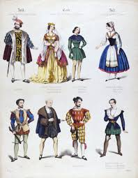 th century opera victoria and albert museum coloured print of costume design for gioacchino rossini s opera william tell 19th century