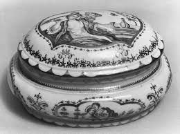 <b>Sugar box</b> with cover - Abraham Seuter|Meissen Manufactory ...