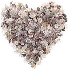 Hilitchi <b>Quartz Stones Tumbled</b> Chips <b>Stone</b> Crushed <b>Crystal Natural</b>