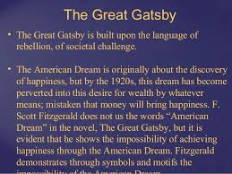 great gatsby american dream thesis   derivative research papergreat gatsby american dream thesis  racial profiling essay thesis