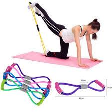<b>New Gym 8 Word</b> Elastic Band Chest Developer Rubber LOOP ...