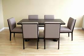 modern wood dining room sets: modern extendable wooden captivating modern wood dining room table
