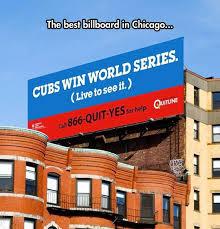 Cubs Win World Series | Sponsorships | Pinterest